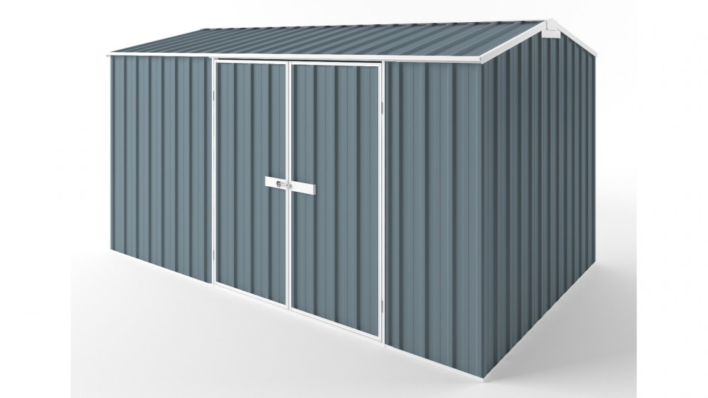 EasyShed D3823 Gable Roof Garden Shed - Blue Horizon