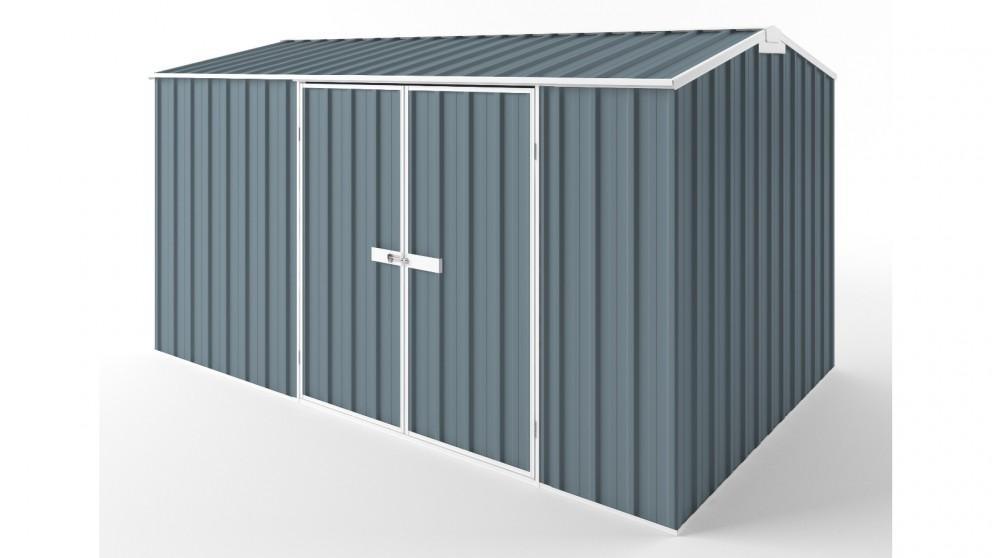 EasyShed D3823 Gable Roof Garden Shed - Blue Horizon
