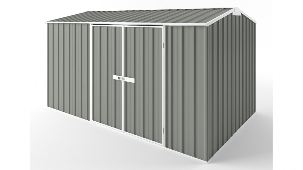 EasyShed D3823 Gable Roof Garden Shed - Bush Smoke