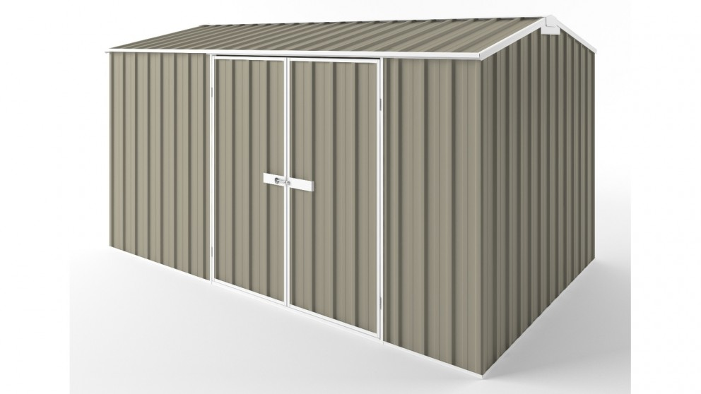 EasyShed D3823 Gable Roof Garden Shed - Stone