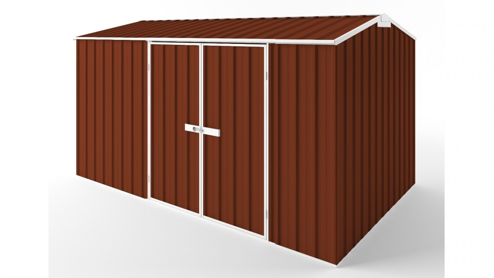 EasyShed D3823 Gable Roof Garden Shed - Tuscan Red
