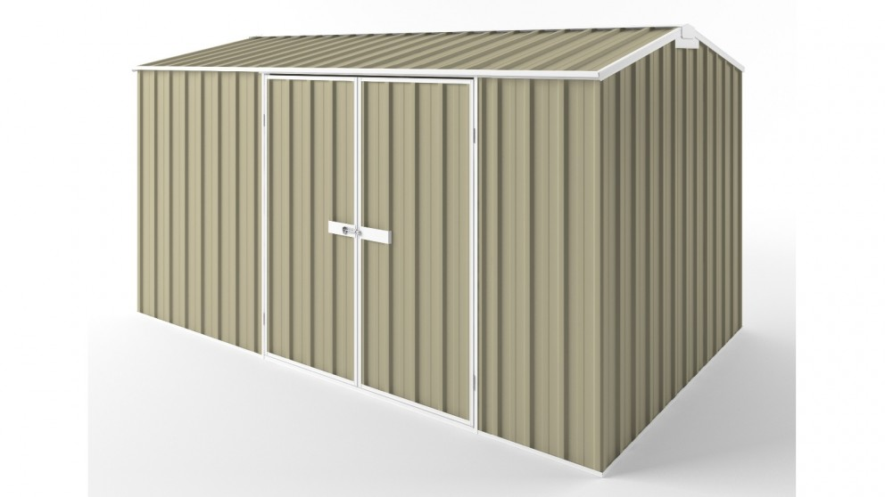 EasyShed D3823 Gable Roof Garden Shed - Wheat