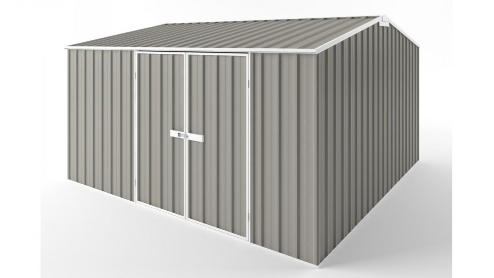 EasyShed D3838 Gable Roof Garden Shed - Birch