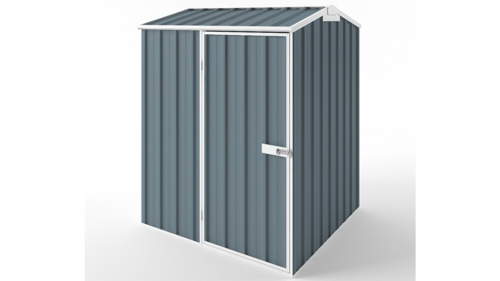 EasyShed S1515 Gable Roof Garden Shed - Blue Horizon