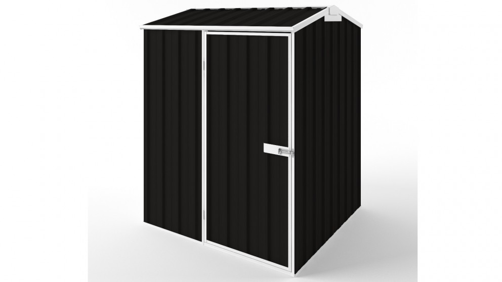EasyShed S1515 Gable Roof Garden Shed - Ebony
