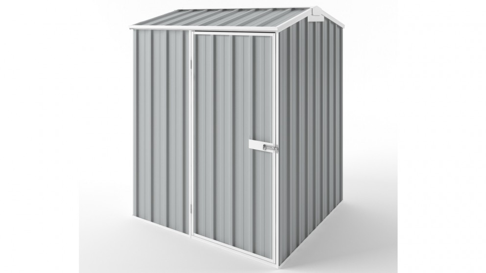 EasyShed S1515 Gable Roof Garden Shed - Gull Grey