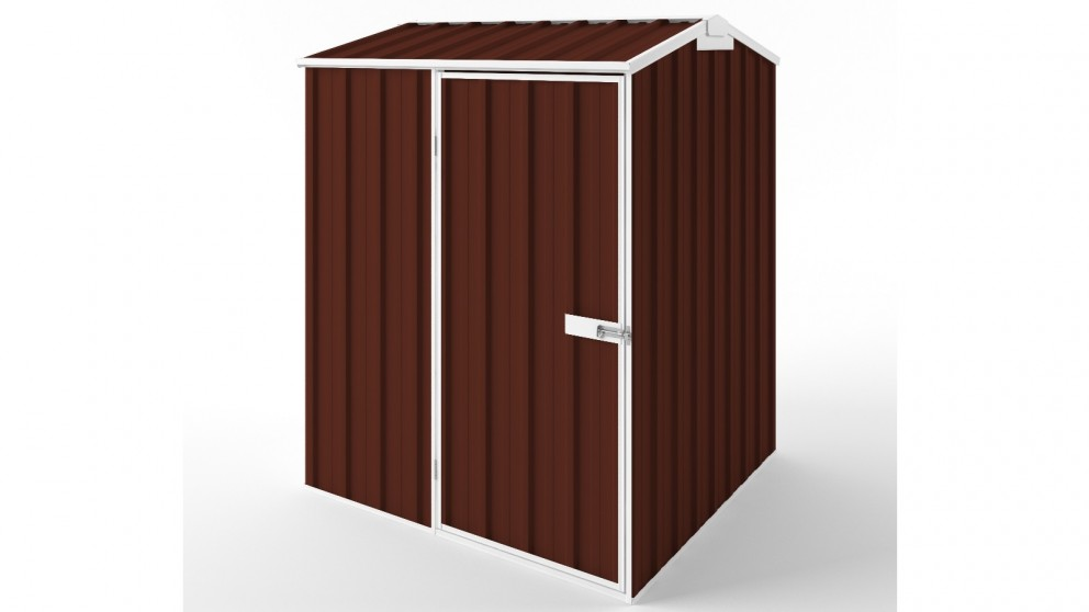 EasyShed S1515 Gable Roof Garden Shed - Heritage Red