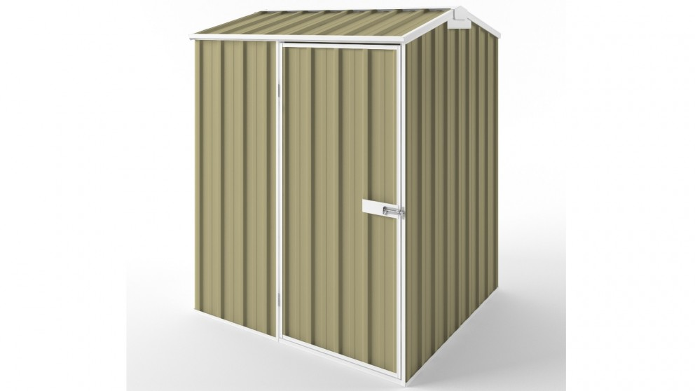 EasyShed S1515 Gable Roof Garden Shed - Sandalwood