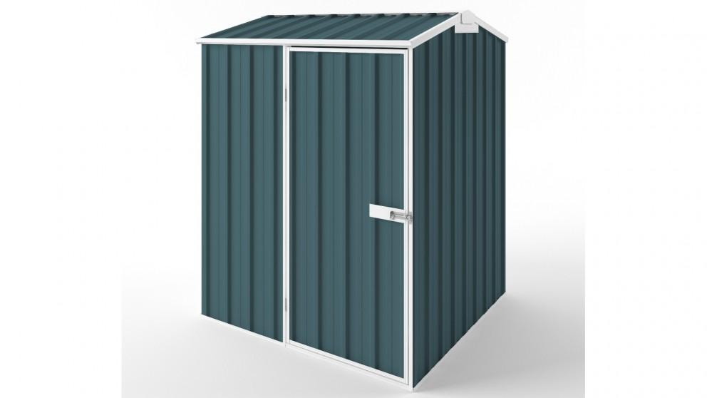 EasyShed S1515 Gable Roof Garden Shed - Torres Blue