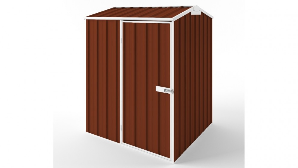 EasyShed S1515 Gable Roof Garden Shed - Tuscan Red