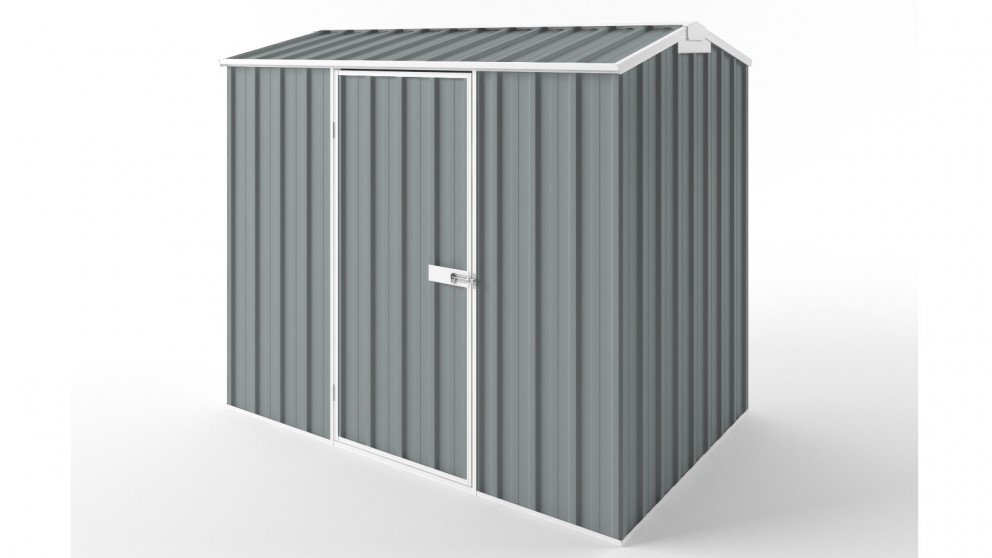 EasyShed S2315 Gable Roof Garden Shed - Armour Grey