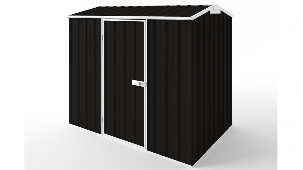 EasyShed S2315 Gable Roof Garden Shed - Ebony