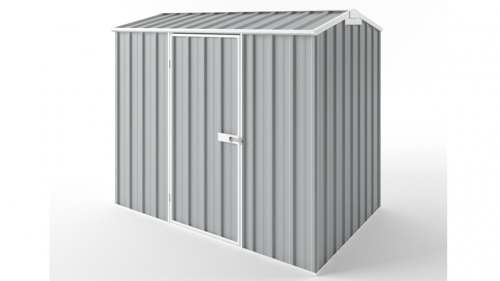 EasyShed S2315 Gable Roof Garden Shed - Gull Grey