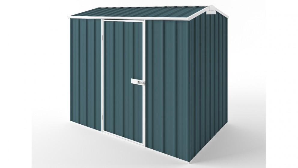 EasyShed S2315 Gable Roof Garden Shed - Torres Blue