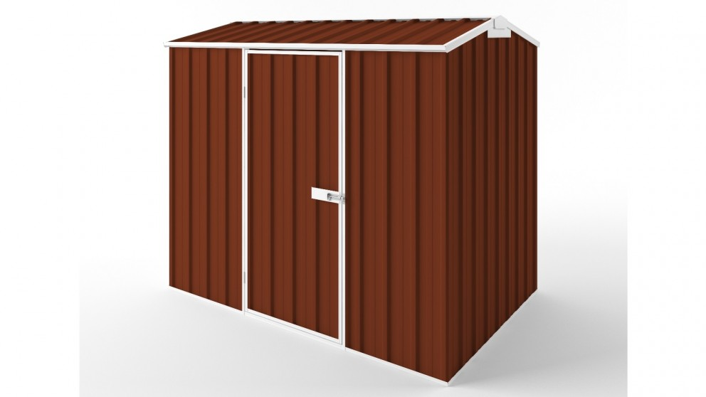 EasyShed S2315 Gable Roof Garden Shed - Tuscan Red