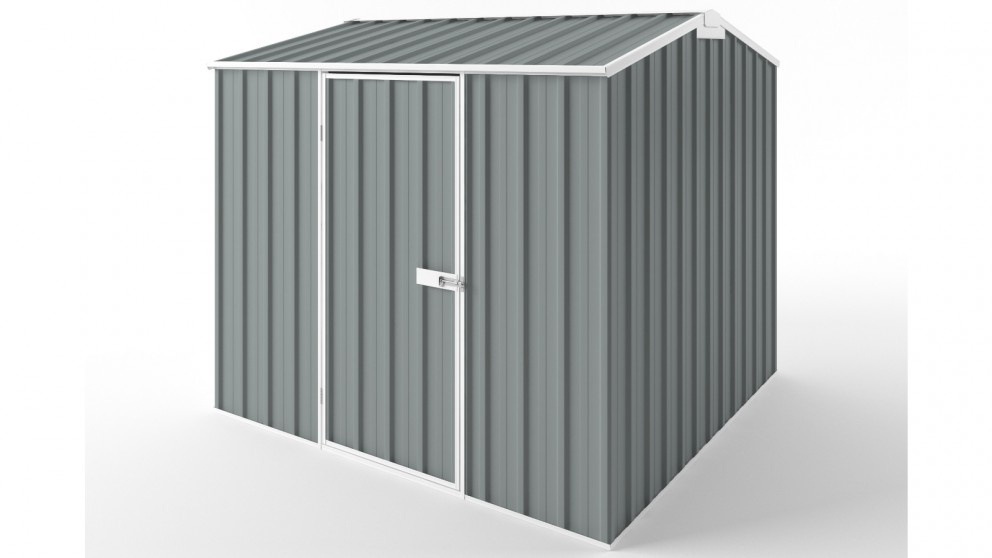 EasyShed S2323 Gable Roof Garden Shed - Armour Grey