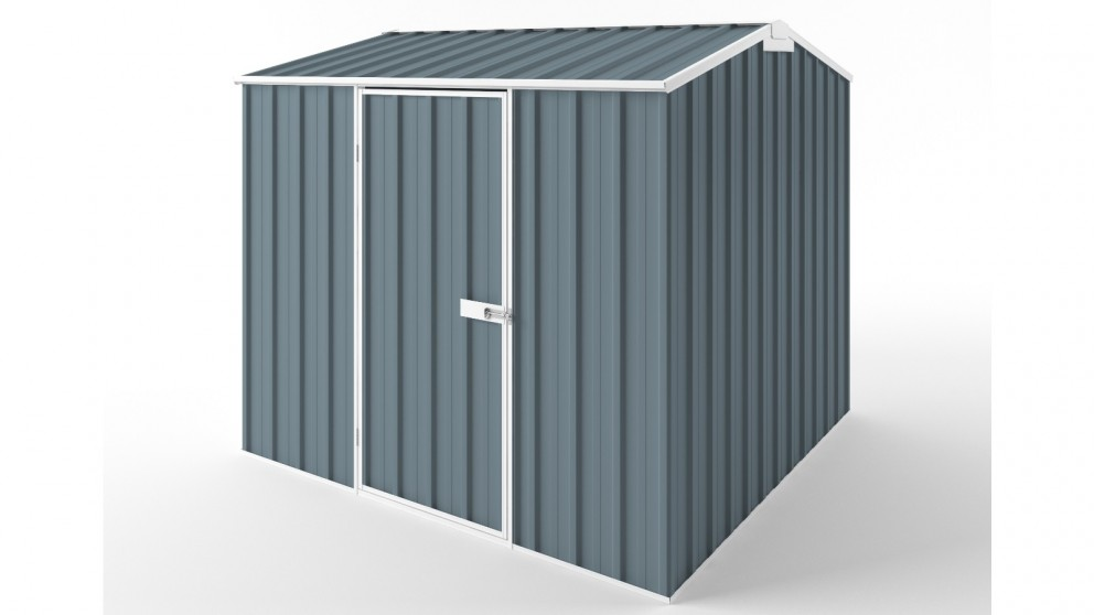 EasyShed S2323 Gable Roof Garden Shed - Blue Horizon