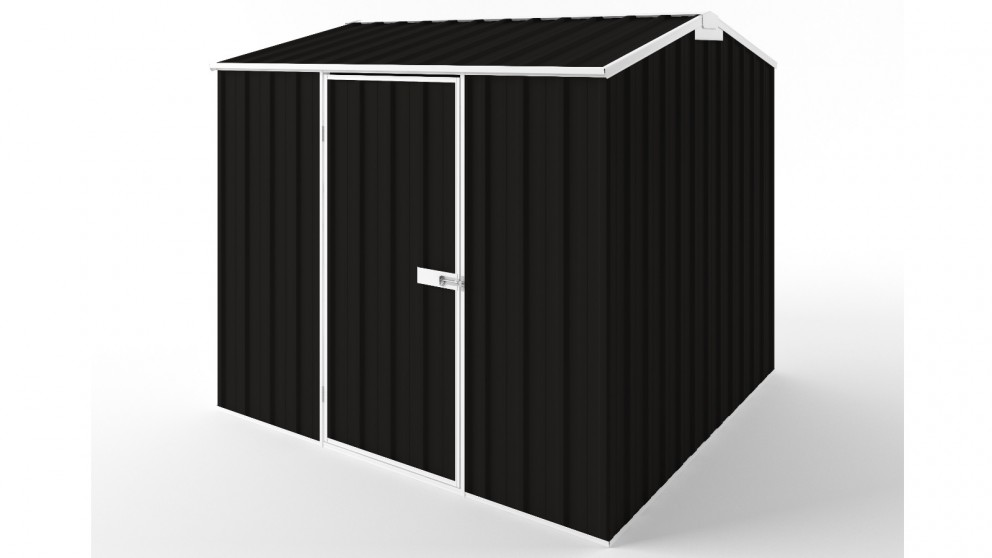 EasyShed S2323 Gable Roof Garden Shed - Ebony