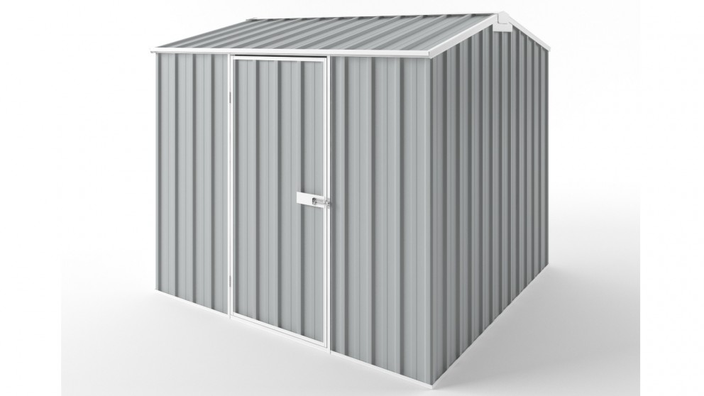 EasyShed S2323 Gable Roof Garden Shed - Gull Grey