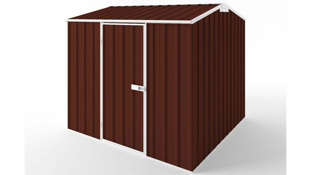 EasyShed S2323 Gable Roof Garden Shed - Heritage Red