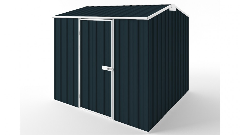 EasyShed S2323 Gable Roof Garden Shed - Mountain Blue