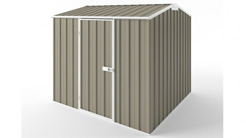 EasyShed S2323 Gable Roof Garden Shed - Stone
