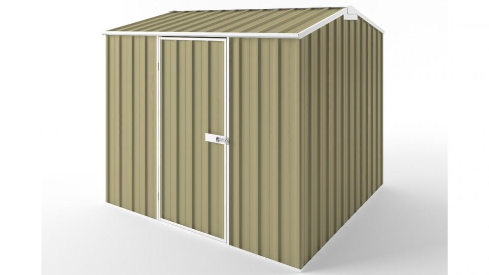 EasyShed S2323 Gable Roof Garden Shed - Sandalwood
