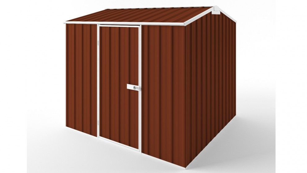EasyShed S2323 Gable Roof Garden Shed - Tuscan Red