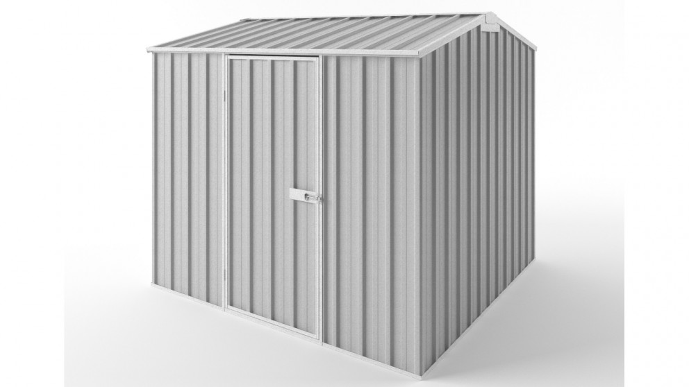 EasyShed S2323 Gable Roof Garden Shed - Zincalume