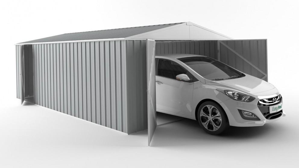 EasyShed 6038 Garage Shed - Gull Grey