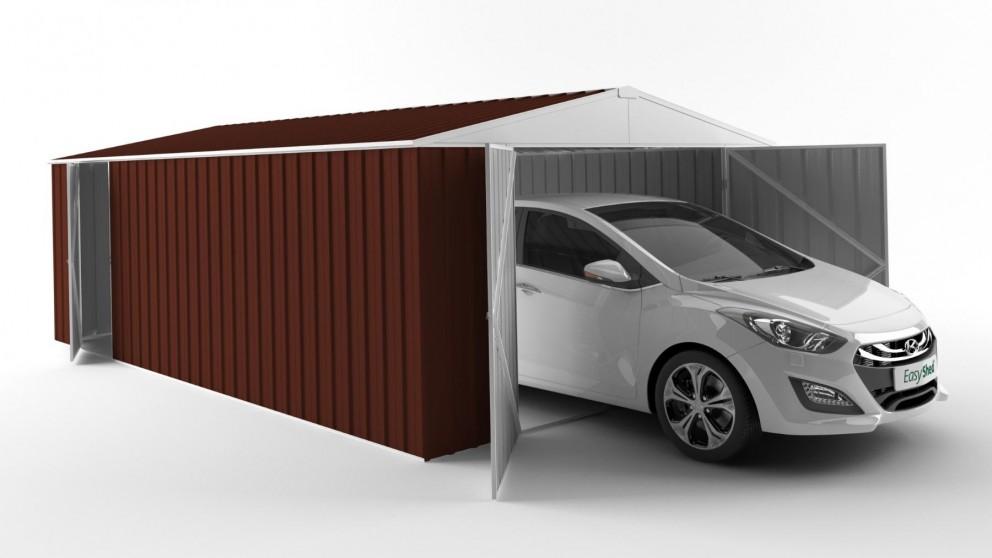 EasyShed 6038 Garage Shed - Heritage Red