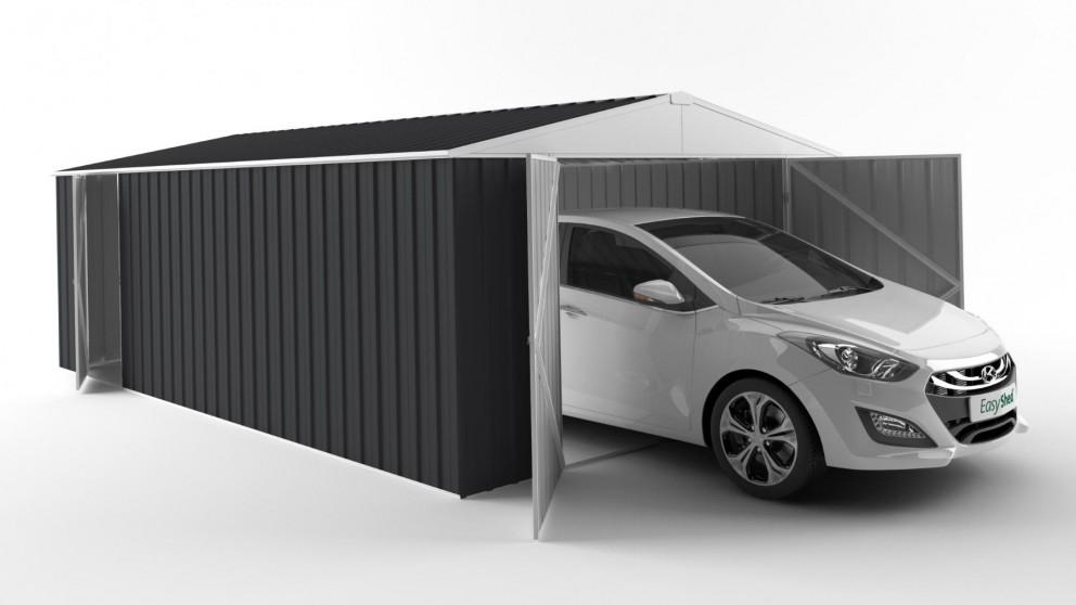 EasyShed 6038 Garage Shed - Iron Grey