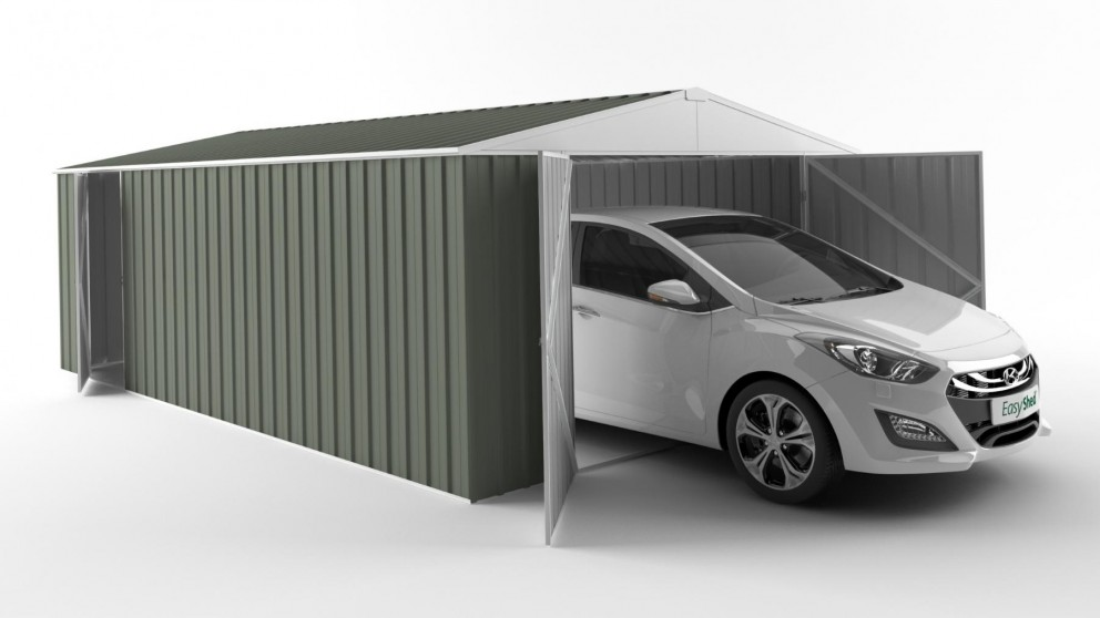 EasyShed 6038 Garage Shed - Mist Green