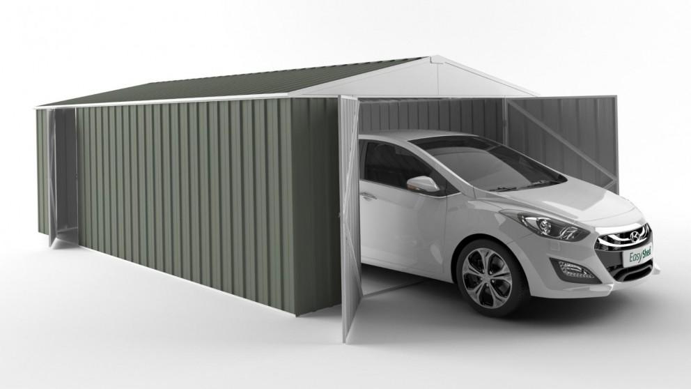 EasyShed 6038 Garage Shed - Mist Green