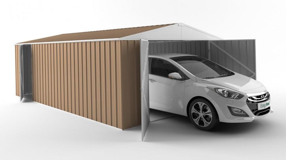 EasyShed 6038 Garage Shed - Pale Terracotta