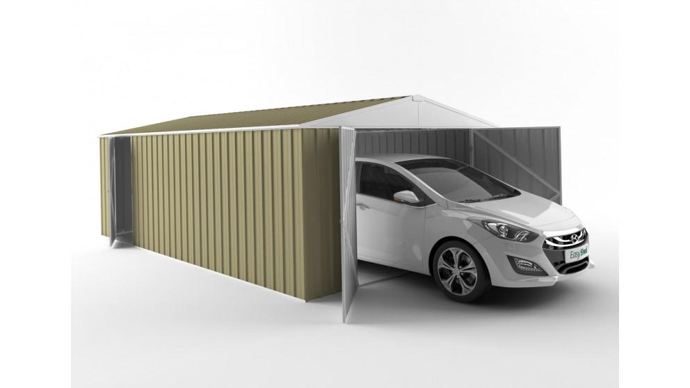 EasyShed 6038 Garage Shed - Sandalwood