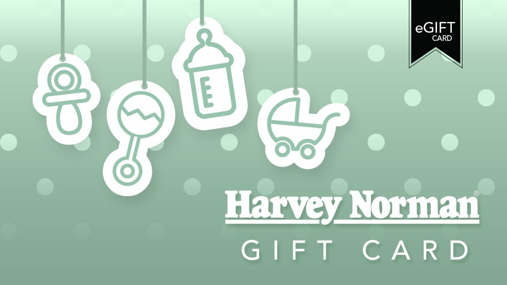 Harvey Norman $100 e-Gift Card - Baby Green