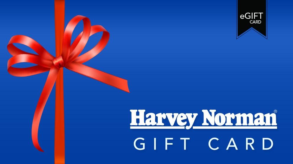 Harvey Norman $50 e-Gift Card