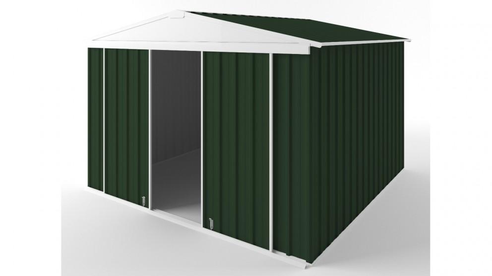 EasyShed D3030 Gable Slider Roof Garden Shed - Caulfield Green