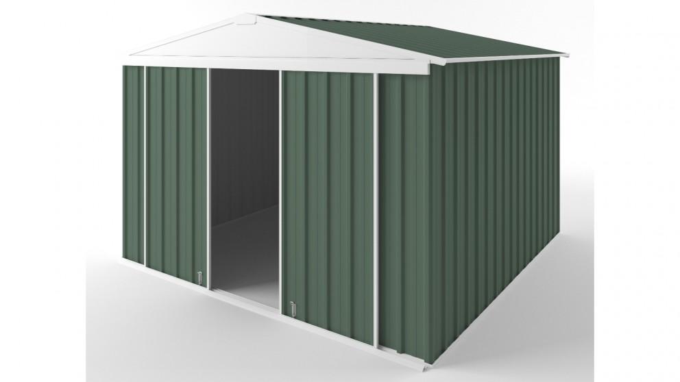 EasyShed D3030 Gable Slider Roof Garden Shed - Rivergum