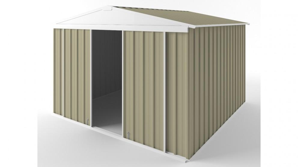 EasyShed D3030 Gable Slider Roof Garden Shed - Wheat
