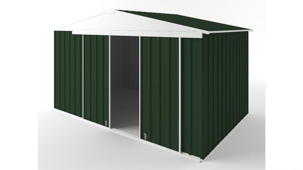 EasyShed D3823 Gable Slider Roof Garden Shed - Caulfield Green