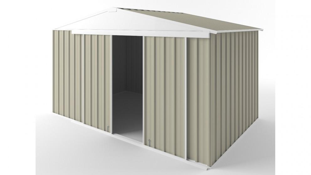 EasyShed D3823 Gable Slider Roof Garden Shed - Merino