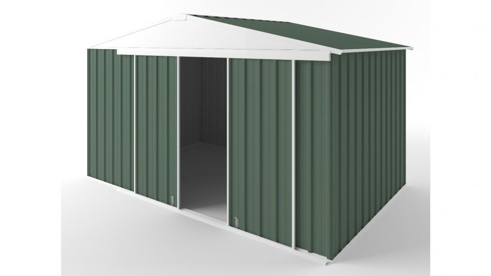 EasyShed D3823 Gable Slider Roof Garden Shed - Rivergum