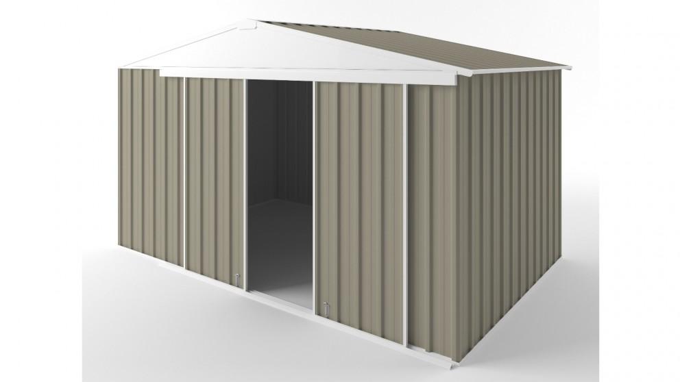 EasyShed D3823 Gable Slider Roof Garden Shed - Stone