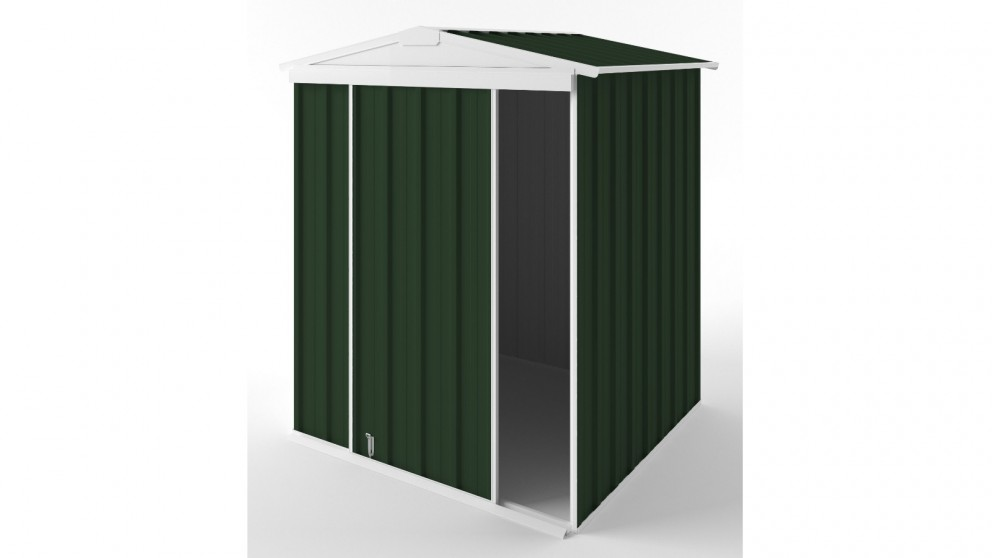 EasyShed S1515 Gable Slider Roof Garden Shed - Caulfield Green