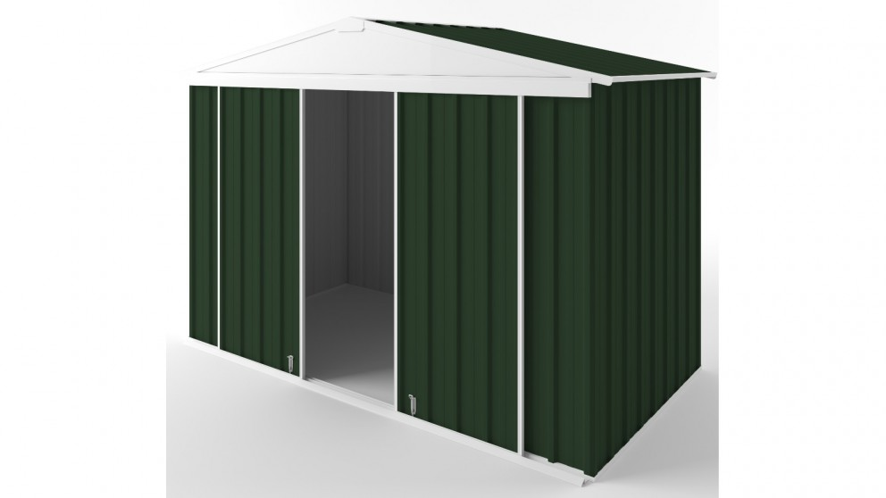 EasyShed D3015 Gable Slider Garden Shed - Caulfield Green