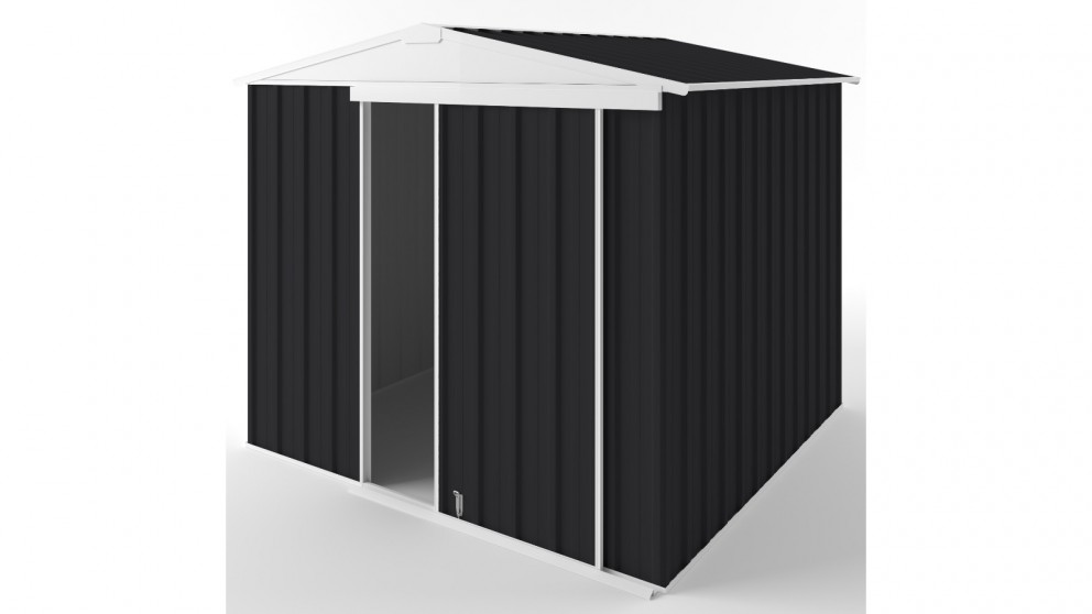 EasyShed S2323 Gable Slider Garden Shed - Monument