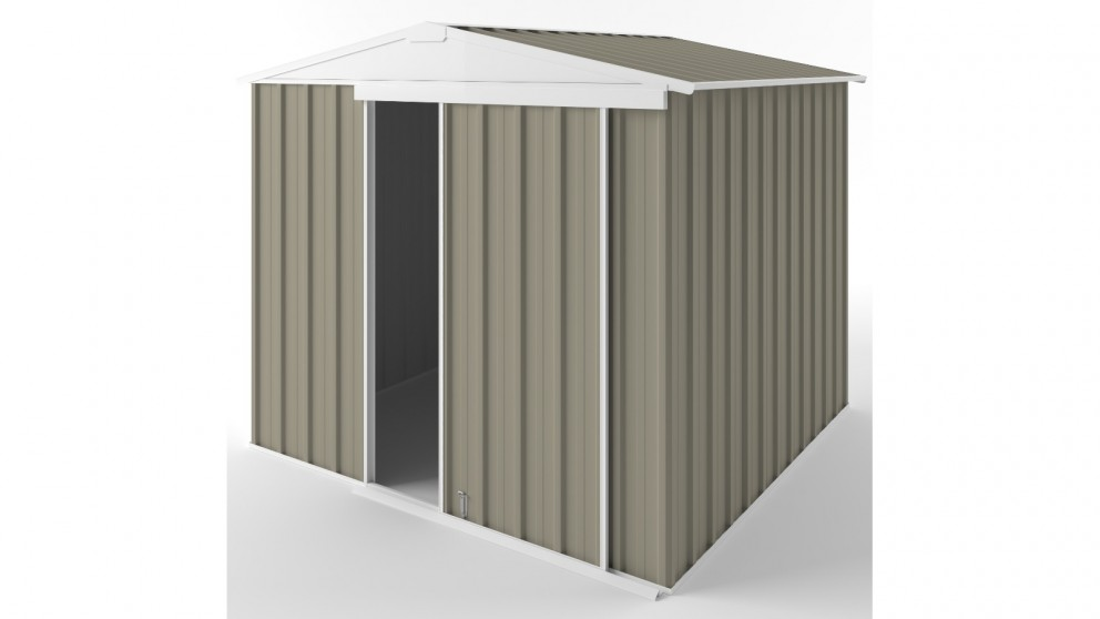EasyShed S2323 Gable Slider Garden Shed - Stone