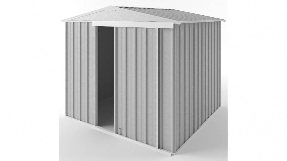 EasyShed S2323 Gable Slider Garden Shed - Zincalume